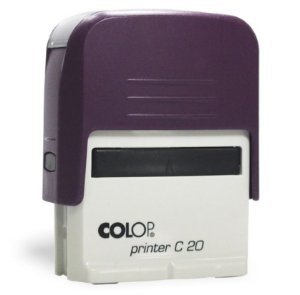 Carimbo Automático Printer C20 - Roxo