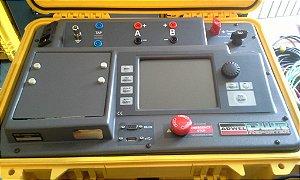 Medidor resistência ôhmica de enrolamentos de transformadores - DWR10