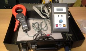 Testes de surge arresters de óxido de metal - SCAR10