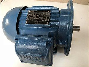 Motor elétrico 0.75vc 06P80 220/380/440 V60Hz Trifásico PN 11395669 W22 (Novo) marca WEG