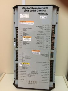 Woodward DSLC - Digital Synchronizer and Load Control Part N: 9905-795