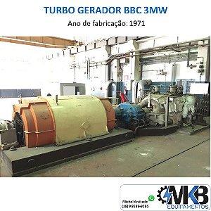 TURBO GERADOR BBC 3MW