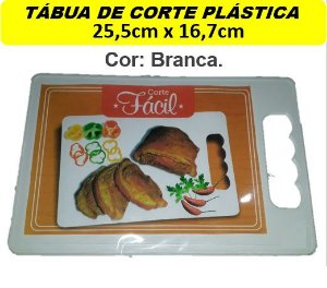 Tábuas Plástica (25,5x16,7cm) Churrasco Corte Carne