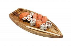 Barco para Sushi e Sashimi