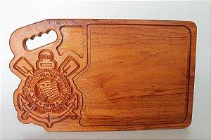 Tábua de artesanal em madeira (Times de futebol)