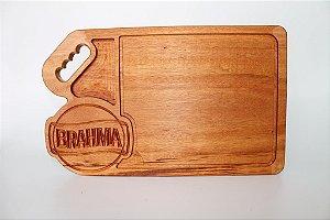 Tábua de artesanal em madeira (Marcas de cerveja)