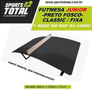 Futmesa JUNIOR Cassic Fixa  + Rede em MDF ou Vidro (Altinha / Teqball)