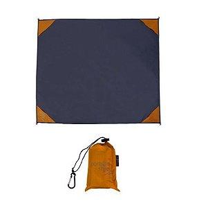 Esteira de praia / Manta Multifuncional para camping impermeável - Laranja