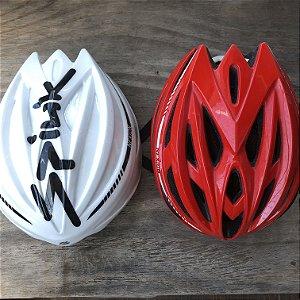 Capacete 2em1 Spiuk Nexion c/ capa Aero p/ Ciclismo Speed MTB Triathlon Ref.186