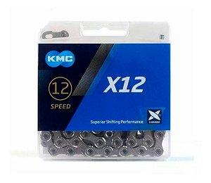Corrente Kmc Original X12 Velocidades compatível com Shimano, Sram, etc Ref.210