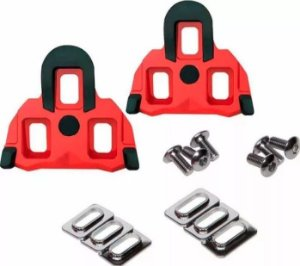 Taco Scada Vermelho Para Pedal Shimano Spd SL - 4.5º graus c/ parafusos Ref.745