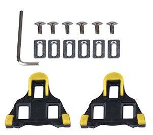 Taco padrão Shimano Para Pedal Spd SL - 6º graus c/ parafusos Ref.226