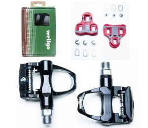 Pedal p/ Bike Clipe Speed TT Wellgo Rc7 R096b C/ Tacos Ref.088