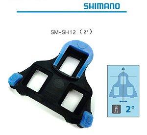 Taco Shimano Para Pedal Spd SL - 2º graus c/ parafusos Ref.152