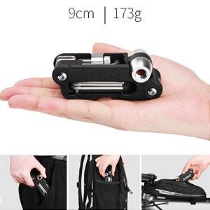 Canivete Bike Multi Chave 18 Funções C/ Extrator De Corrente Ref.173