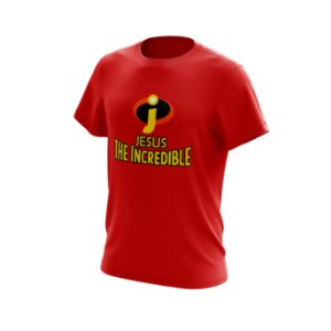 Camisa JESUS - THE INCREDIBLE