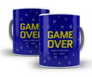 Caneca Game Over