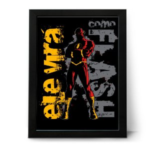 QUADRO OU PLACA DECORATIVA Flash