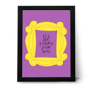 QUADRO OU PLACA DECORATIVA FRIENDS