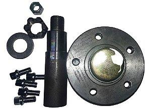 Cubo C/ Eixo Super Reforçado P/ 2500 Kg Por Roda Modelo S10