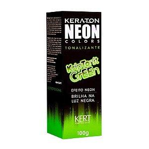 Tonalizante Neon - Keraton NEON Colors - Kriptonit Green