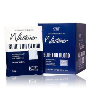 Descolorante WHITENER Blue 4 Blond-Dust Free-Po Azul-50g