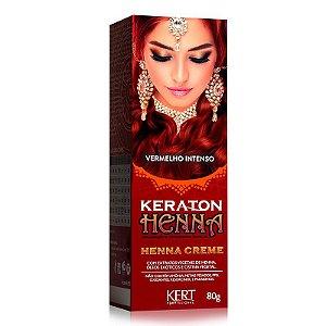 Keraton Henna Creme - Vermelho Intenso