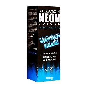 Tonalizante Neon - Keraton NEON Colors - Uranium Blue