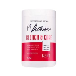 Descolorante WHITENER Bleach And Care-Dust Free-Po Branco-300g