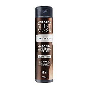 Máscara Matizadora Keraton Shine Mask - Chocolate