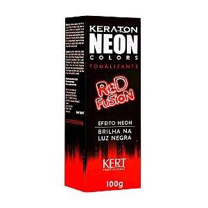 Tonalizante Neon - Keraton NEON Colors - Red Fusion