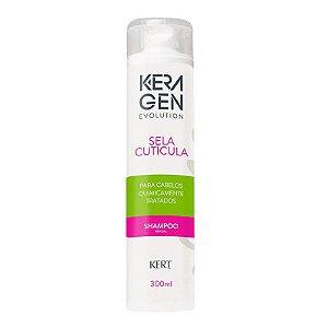 Shampoo Keragen Evolution - Sela Cutícula