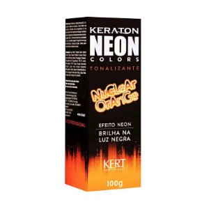 Tonalizante Neon - Keraton NEON Colors - Nuclear Orange