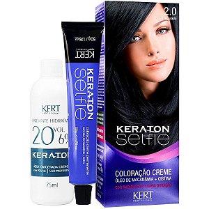 Coloração Keraton Selfie 2.0 - Preto Azulado