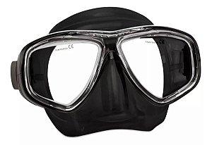 Máscara Splenda 3 Seasub Silicone Preto