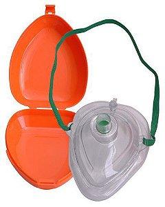Pocket Mask com válvula + Estojo