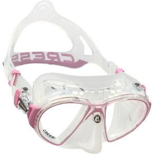 Mascara de Mergulho Cressi Zeus - Silicone Transparente
