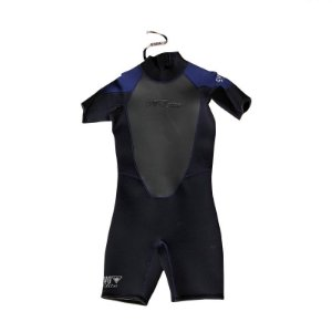 Short John 3mm Evo Elite preto/azul TAM M