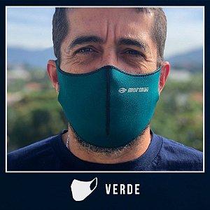 Máscara de Proteção Facial  em Neoprene - Verde