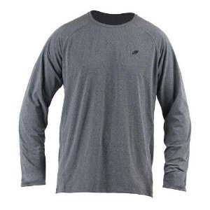 Camiseta Manga Longa Dry Flex Sport Masc Mormaii Cinza