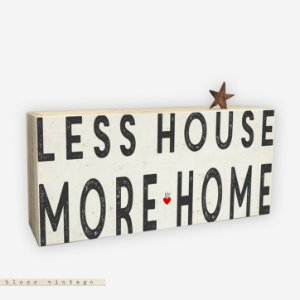 BLOCO VINTAGE – LESS HOUSE MORE HOME