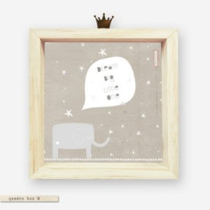 QUADRO BOX M – DREAM BIG LITTLE ONE