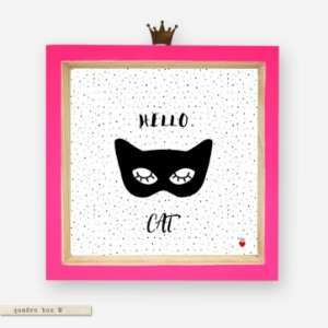 QUADRO BOX M – HELLO CAT #2