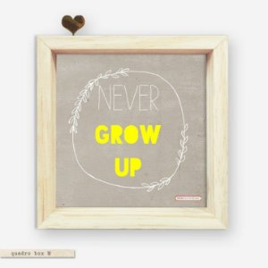 QUADRO BOX M – NEVER GROW UP