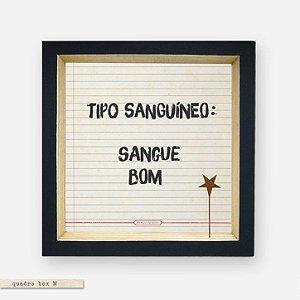 QUADRO BOX M – TIPO SANGUÍNEO SANGUE BOM