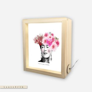 Luminária - Frida Kahlo