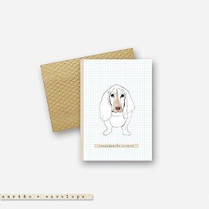 CARTÃO ENVELOPE - Dog