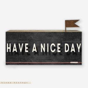 Bloco Vintage - Have a Nice Day