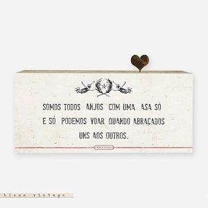 Bloco Vintage - Somos Todos Anjos