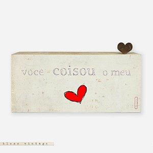Bloco Vintage - Você coisou o meu coração #2